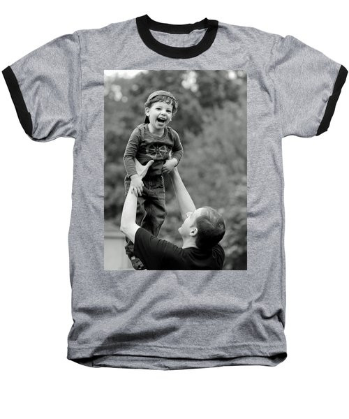 Father And Son IIi Baseball T-Shirt by Lisa Phillips
