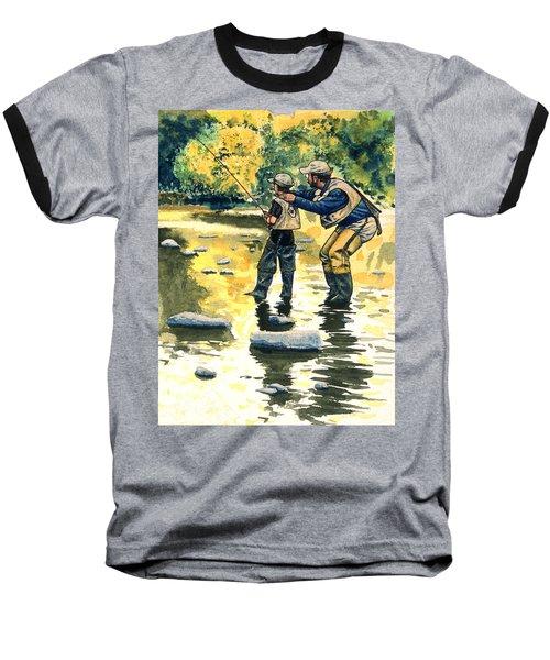 Father And Son Baseball T-Shirt