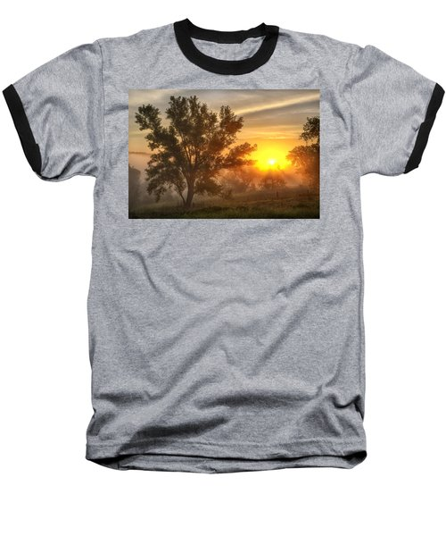 Father's Day Sunrise Baseball T-Shirt