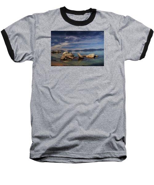 Baseball T-Shirt featuring the photograph Fatman In A Bathtub by Sean Sarsfield