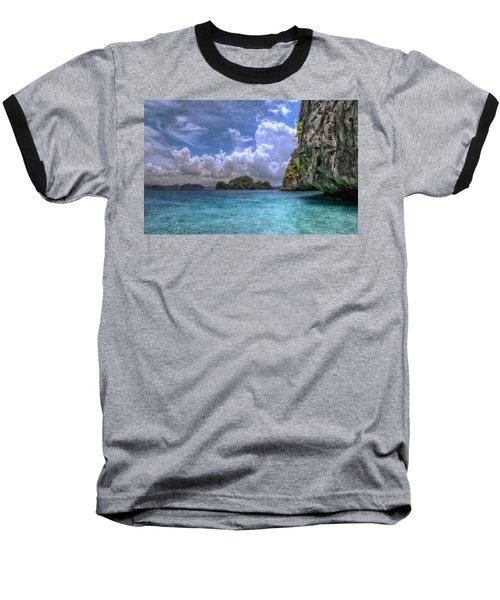 Favorite Color Blue Baseball T-Shirt