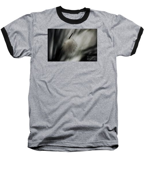 Baseball T-Shirt featuring the photograph Feather by Cassandra Buckley