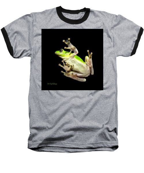 Feathered Frog Baseball T-Shirt
