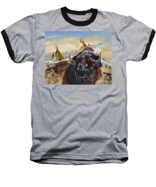 Feed The Fire Baseball T-Shirt