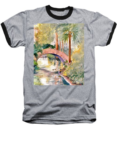 Feeding The Ducks Baseball T-Shirt