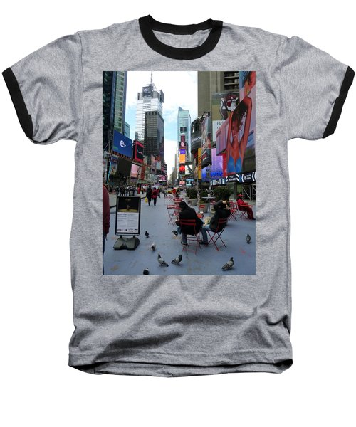 Baseball T-Shirt featuring the photograph Feeding Time by Jackie Carpenter