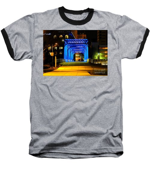 Baseball T-Shirt featuring the photograph Feeling Blue by Robert Pearson