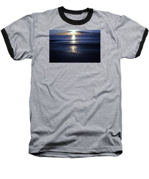 Baseball T-Shirt featuring the photograph Feeling The Sunset by Kicking Bear  Productions