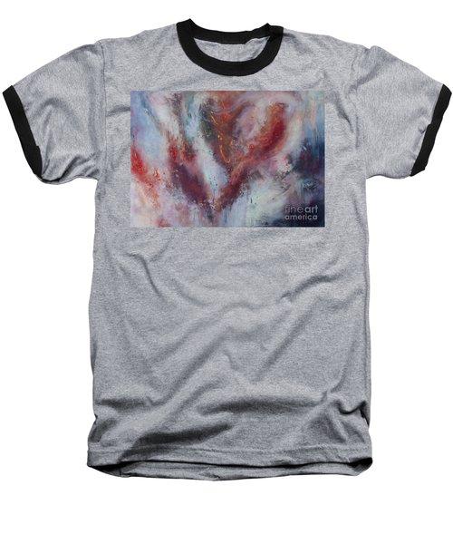 Feelings Of Love Baseball T-Shirt by Valerie Travers
