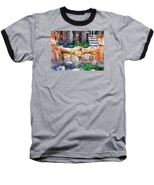 Fence Baseball T-Shirt by Oleg Zavarzin