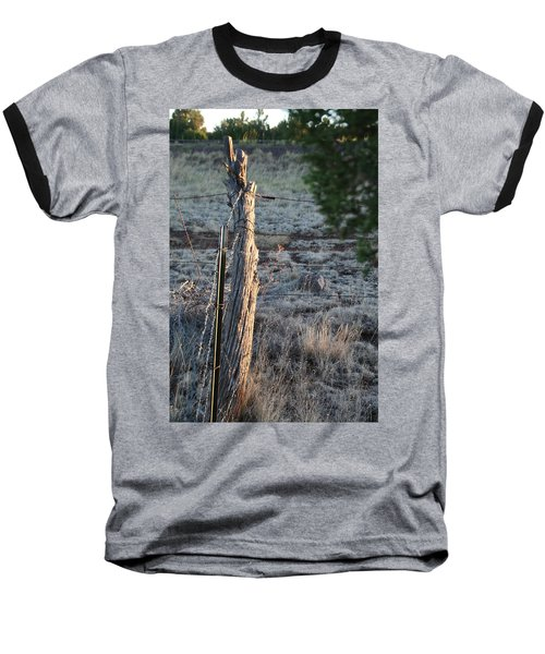 Baseball T-Shirt featuring the photograph Fence Post by David S Reynolds