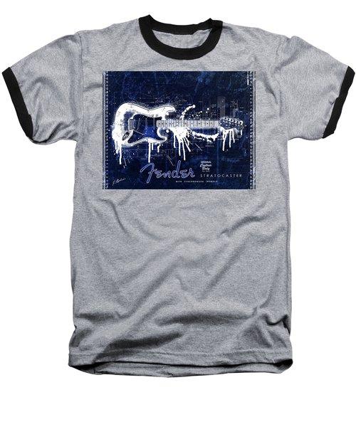 Fender Blueprint Washout Baseball T-Shirt
