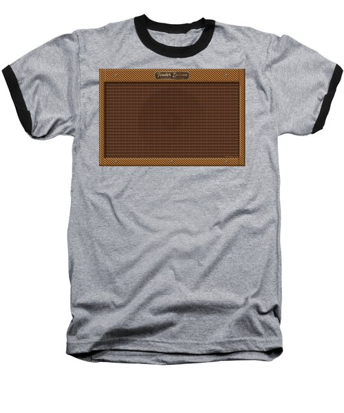Baseball T-Shirt featuring the digital art Fender Deluxe by WB Johnston