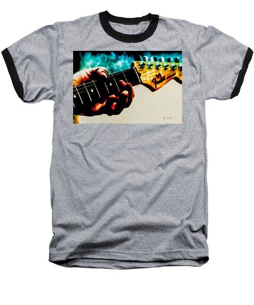 Fender Strat Baseball T-Shirt