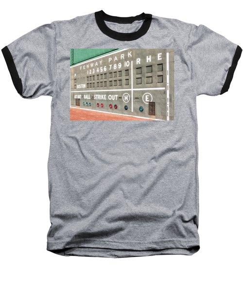 Fenway Park Scoreboard Baseball T-Shirt