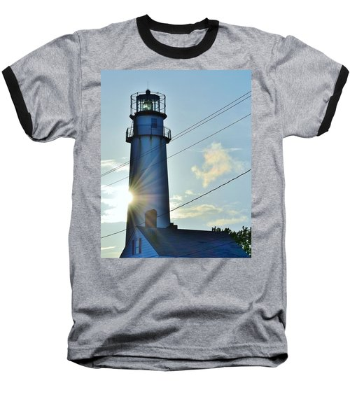 Fenwick Island Lighthouse - Delaware Baseball T-Shirt