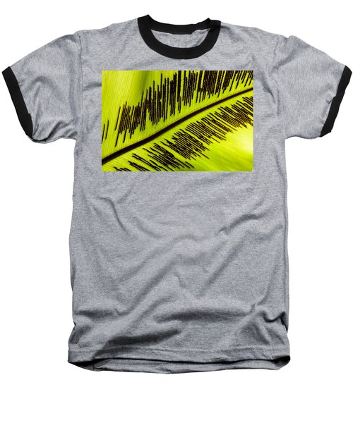 Fern Leaf Baseball T-Shirt