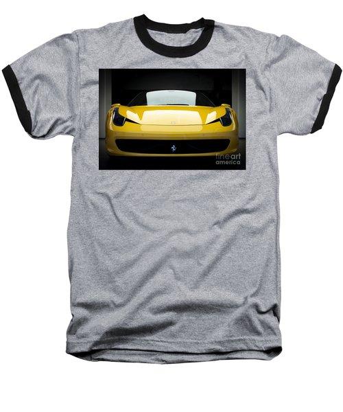 Ferrari 458 Baseball T-Shirt by Matt Malloy