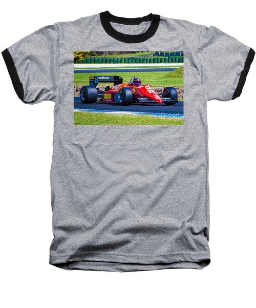 Ferrari At Phillip Island Baseball T-Shirt