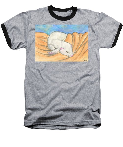 Ferret's Favorite Blanket Baseball T-Shirt