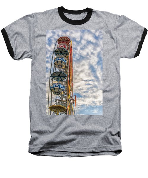 Ferris Wheel Baseball T-Shirt