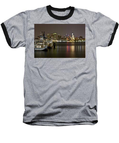 Ferry To The City Of Brotherly Love Baseball T-Shirt