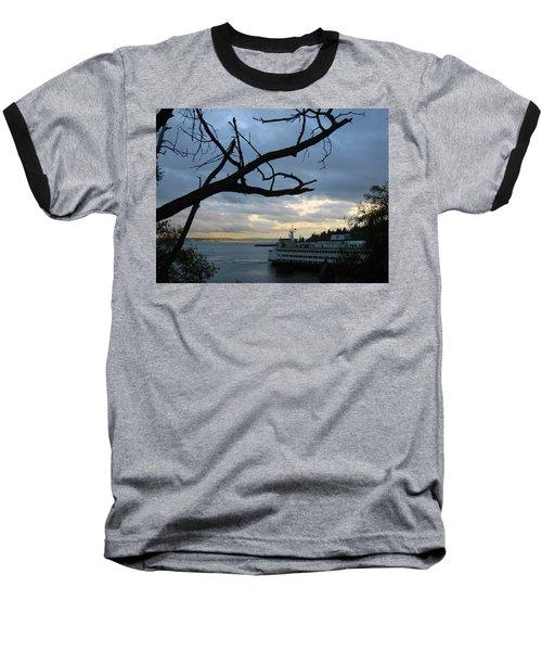 Ferryboat To Seattle  Baseball T-Shirt
