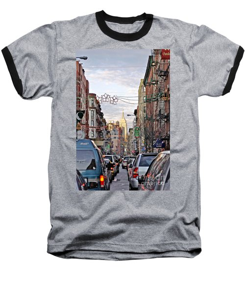 Festive Nyc Baseball T-Shirt