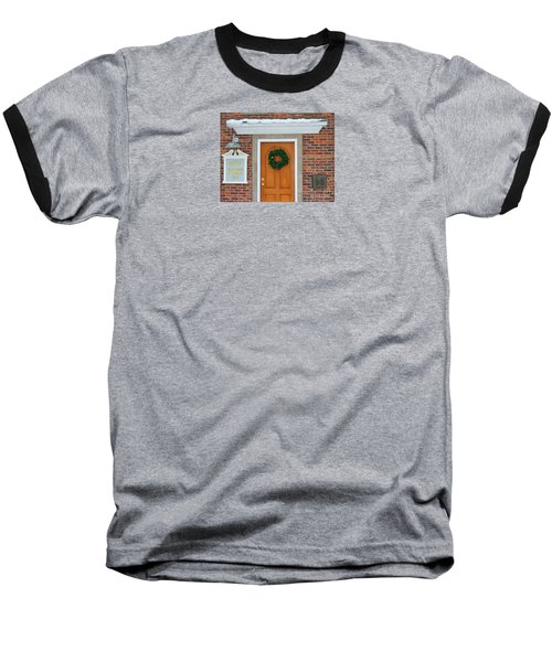 Adventure Suites Hotel Festive Post Office Baseball T-Shirt