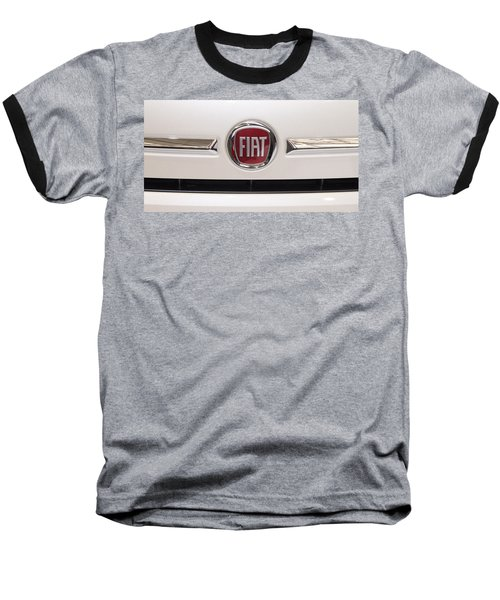 Fiat Logo Baseball T-Shirt by Valentino Visentini