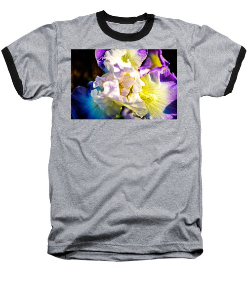 Fickle Iris  Baseball T-Shirt