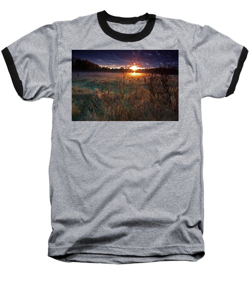 Field Of Dreams Baseball T-Shirt by Suzanne Stout