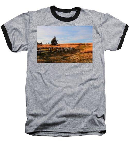Field Of Shadows Baseball T-Shirt