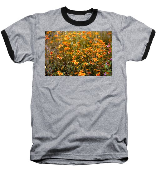 Field Of Wildflowers Baseball T-Shirt