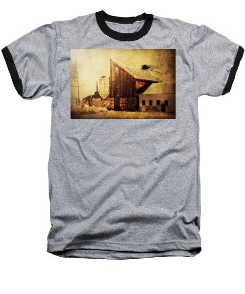 Field Stone Barn 2 Baseball T-Shirt
