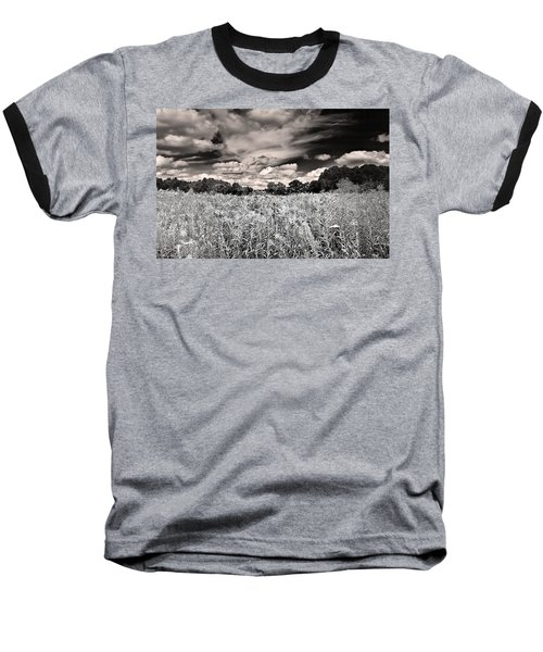 Fields Of Gold And Clouds Baseball T-Shirt