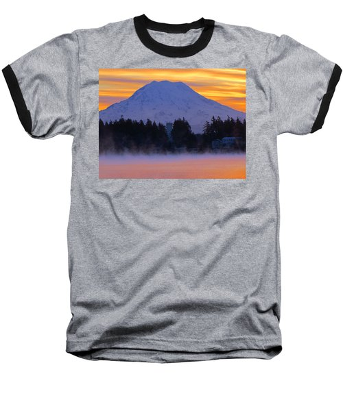 Fiery Dawn Baseball T-Shirt