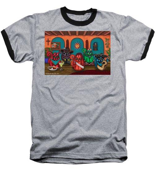 Fiesta Cats II Baseball T-Shirt