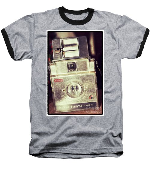 Fiesta Baseball T-Shirt by Traci Cottingham