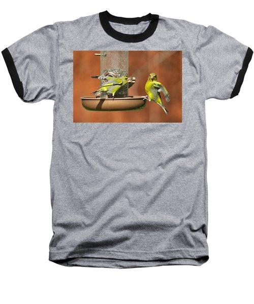 Fight For Food Baseball T-Shirt