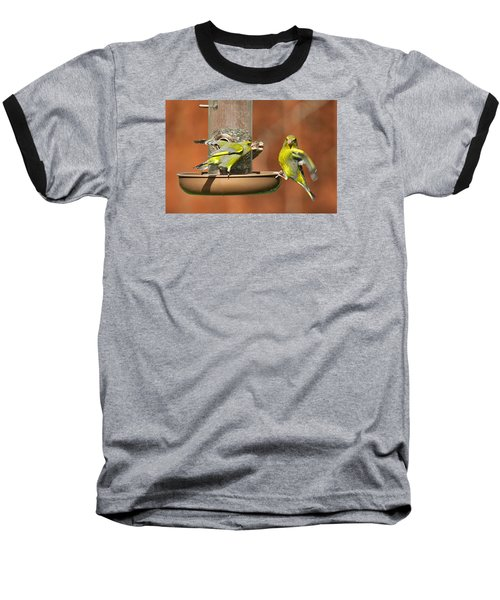 Fight For Food Baseball T-Shirt