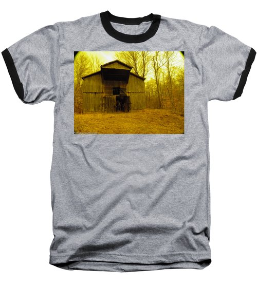 Baseball T-Shirt featuring the photograph Filtered Barn by Nick Kirby
