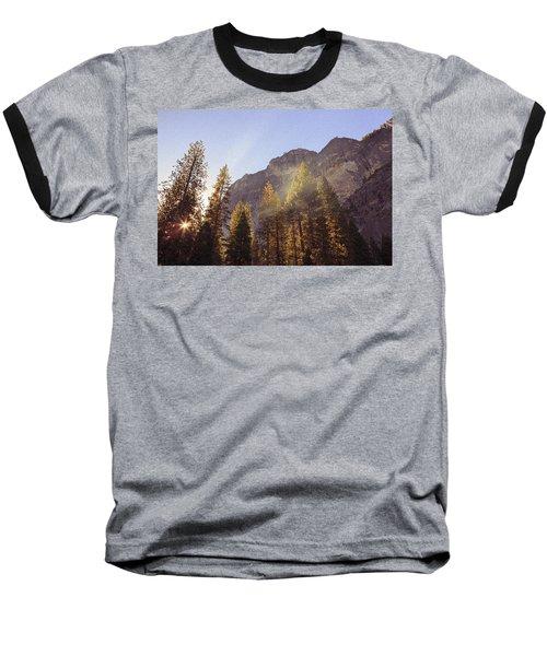 Morning Skies Of Yosemite Baseball T-Shirt