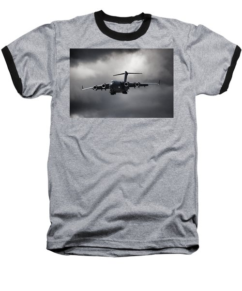 Final Approach Baseball T-Shirt by Paul Job