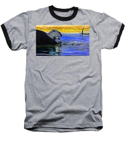 Find A Crab  Crunch A Crab Baseball T-Shirt