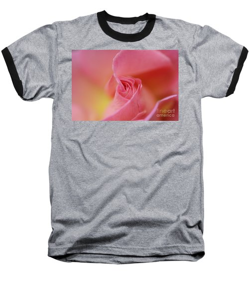 Fine Art - Pink Baseball T-Shirt