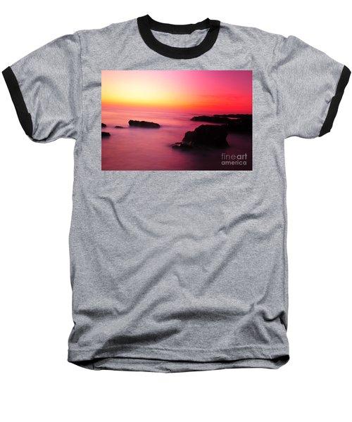 Fine Art - Pink Sky Baseball T-Shirt