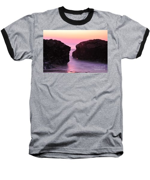 Fine Art Water And Rocks Baseball T-Shirt