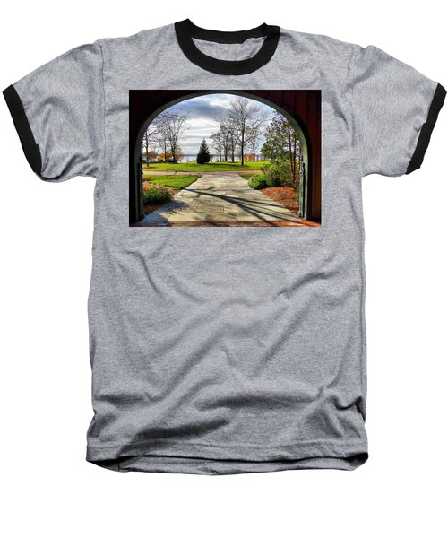 Finger Lakes View From Mackenzie Childs  Baseball T-Shirt