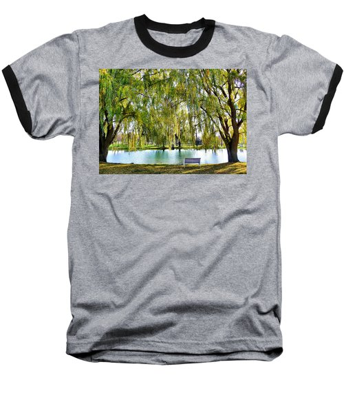 Finger Lakes Weeping Willows Baseball T-Shirt